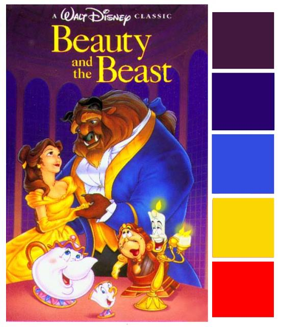Poster Palette - Beauty and the Beast