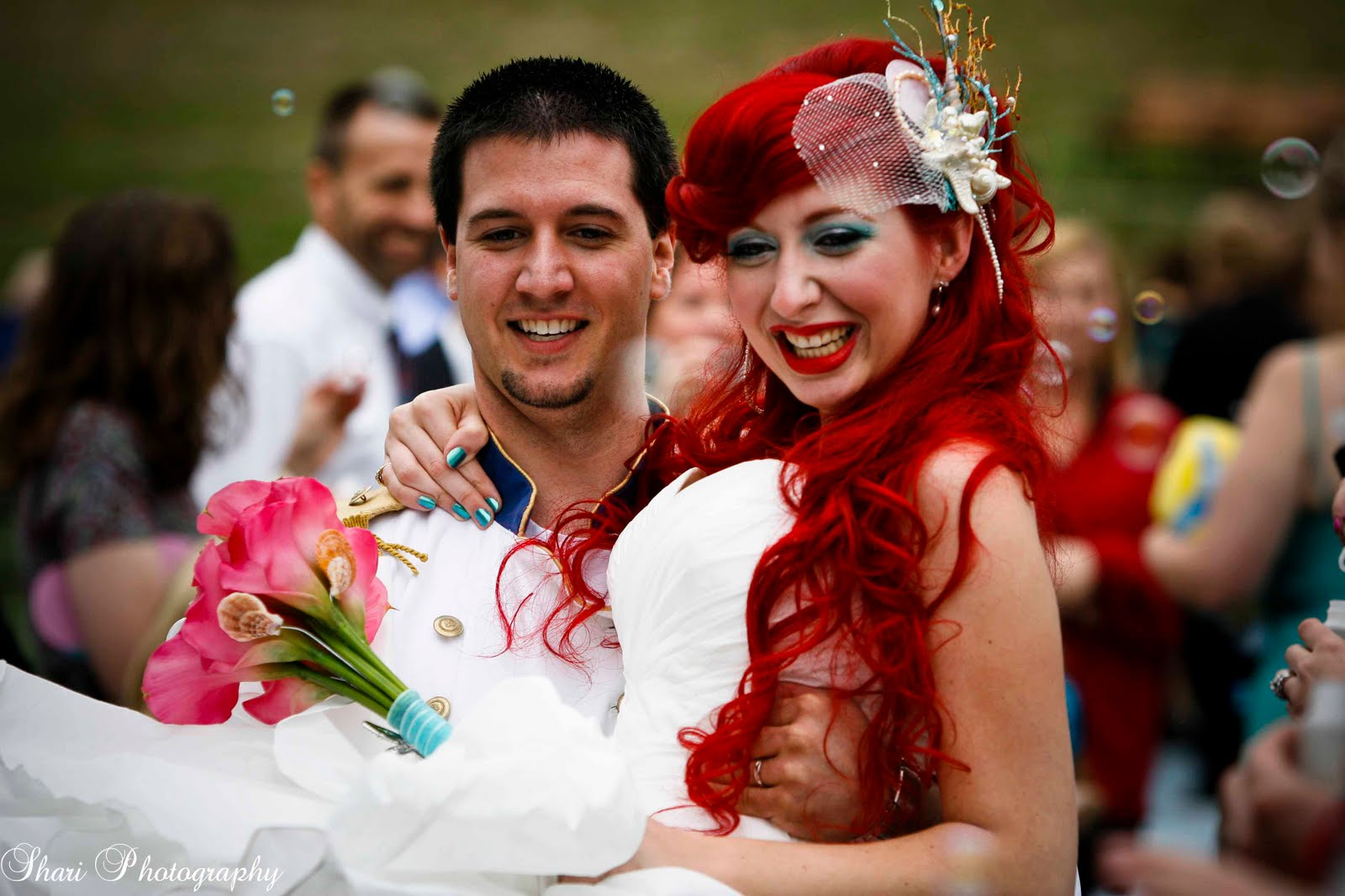 A Cosplay Under The Sea Disney Wedding This Fairy Tale Life