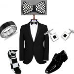 {For the Groom} Classic with a Checkered Twist