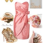 {Wedding Style} Pink and Gold Bridemaids