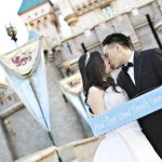 Real Disneyland Weddings – Ilona and Erwin's Castle Shoot