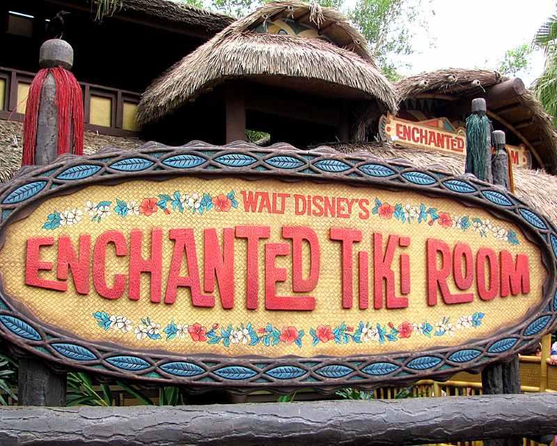 Attraction Inspiration: The Enchanted Tiki Room Wedding