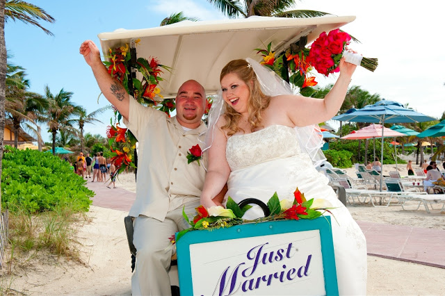Real Disney Wedding - Lisa and Rob's Disney Cruise Wedding!