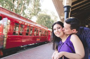 Disneyland Engagement Shoot – Wendy and Jeff