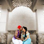 An Aladdin Costumed Wedding
