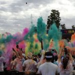 Completing The Color Run in Los Angeles!