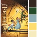 Poster Palette – Peter Pan