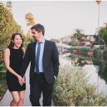 {Engagements} Renee and Nick's Modern Venice Canals Engagement Photos
