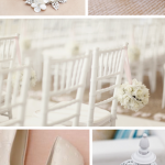 It is Officially Summer! White Wedding Inspiration Board