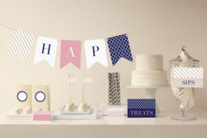 Introducing Minted Party Decor for Your Bridal Shower