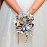 DIY Disney Park Map Bridal Bouquet