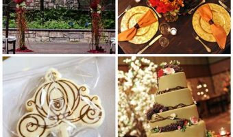 Autumn Disney Wedding Inspiration Board