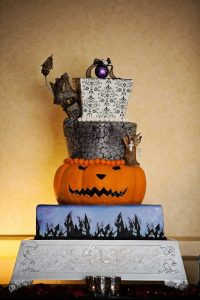Disney Halloween Wedding Cakes to Sink Your Teeth Into