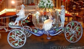 Holly Madison's Blue Bayou, New Orleans Square Disneyland Wedding