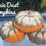 DIY Pixie Dust Pumpkins
