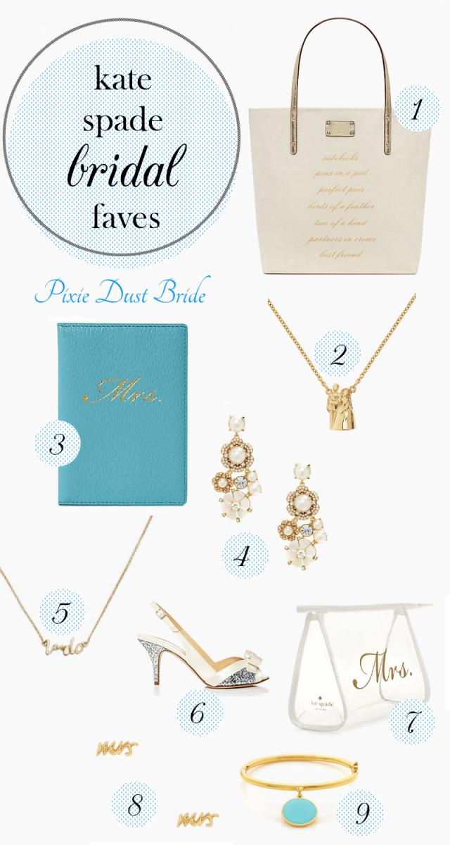 Kate Spade Wedding Favorites