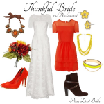 {Wedding Style} Thankful Bride and Bridesmaid