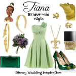 Tiana Bridesmaid Style Board