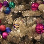 Christmas Trees at The Disneyland Hotel