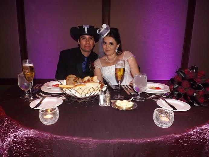 Real Disney Weddings - Nadia and Danny's Halloween Disneyland Wedding // Inspired By Dis
