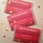 My Hidden Mickey Confetti Business Card Packets for Alt Summit
