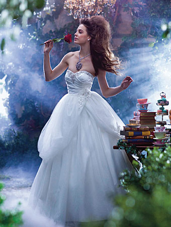 Belle - 2014 Alfred Angelo Disney's Fairy Tale Wedding Gowns - Inspired By Dis