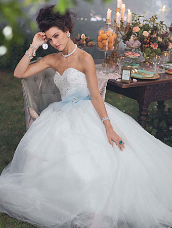 Cinderella - 2014 Alfred Angelo Disney's Fairy Tale Wedding Gowns - Inspired By Dis