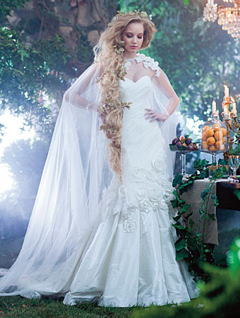 The 2014 Alfred Angelo Disney\'s Fairy Tale Wedding Gowns - This ...