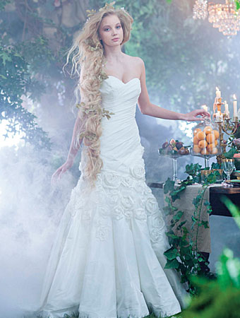 Rapunzel - 2014 Alfred Angelo Disney's Fairy Tale Wedding Gowns - Inspired By Dis