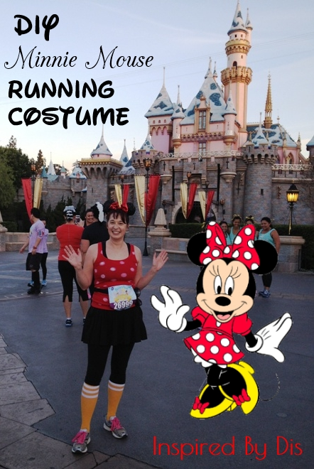 DIY Minnie Mouse Running Costume // Inspired By Dis