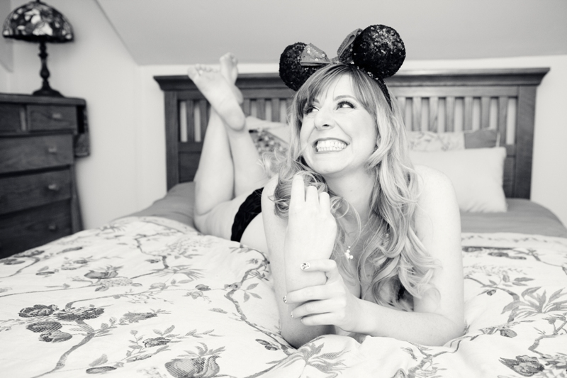 Minnie Mouse Boudoir - Photo by Michelle Lacson Photography // Inspired By Dis
