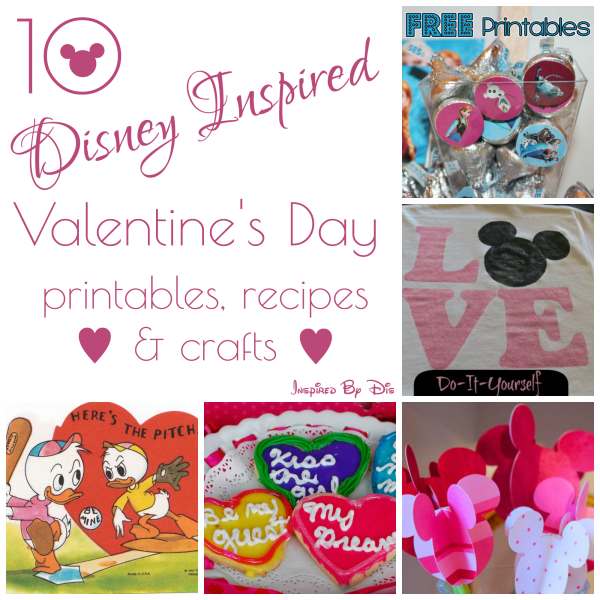 10 Disney Valentine's Day Ideas // Inspired By Dis