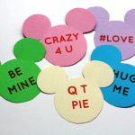 Printable Mickey Conversation Valentines