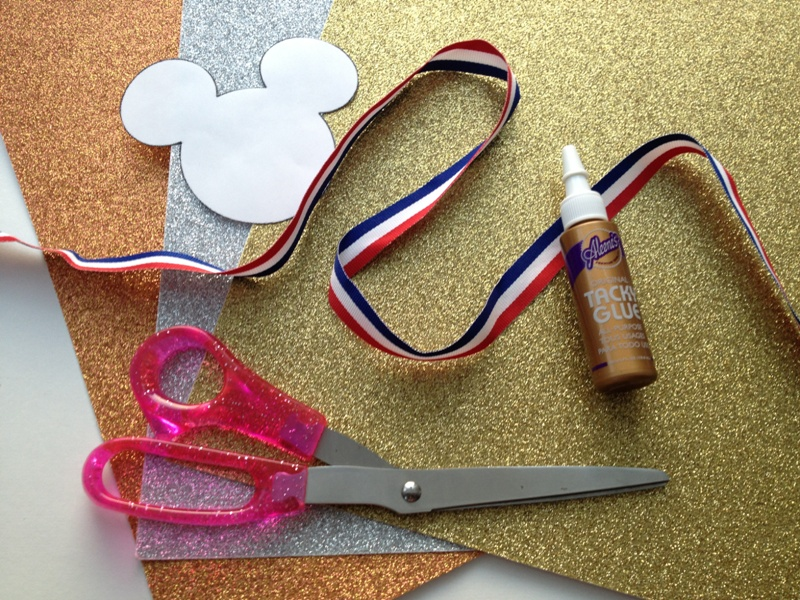 Celebrate Sportsmanship  with Mickey Medals // Inspired By Dis