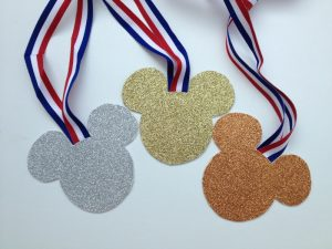 Celebrate Sportsmanship with Mickey Medals