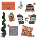 Decorating Our Castle – The Patio