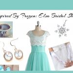 Inspired By Frozen: Elsa Bridal Shower Style Board