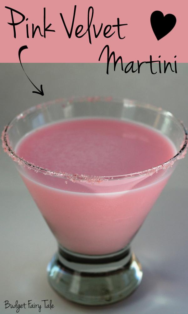Pink Velvet Martini Recipe