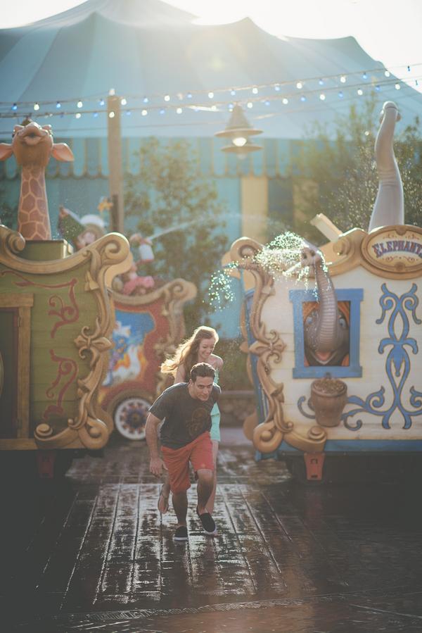 Walt Disney World Honeymoon Session by Twig & Olive Photography