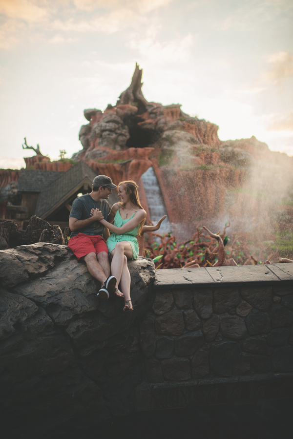 Walt Disney World Honeymoon Session by Twig & Olive Photography