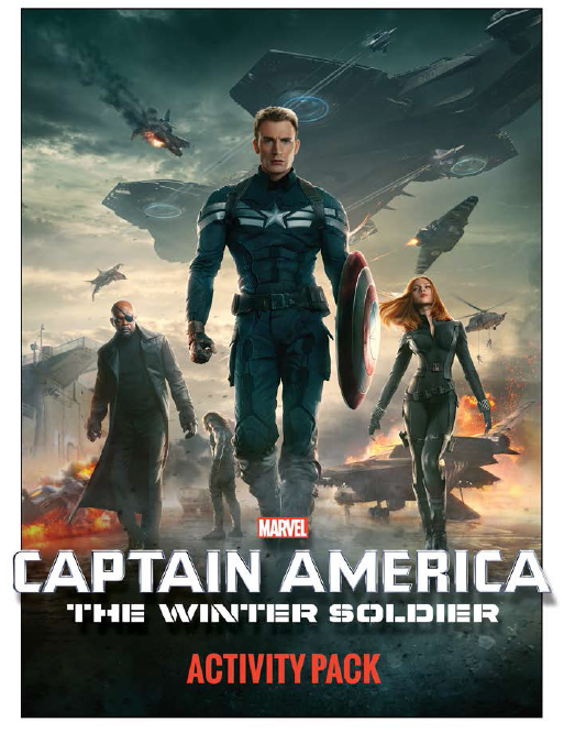 CAPTAIN AMERICA: THE WINTER SOLDIER Coloring Pages