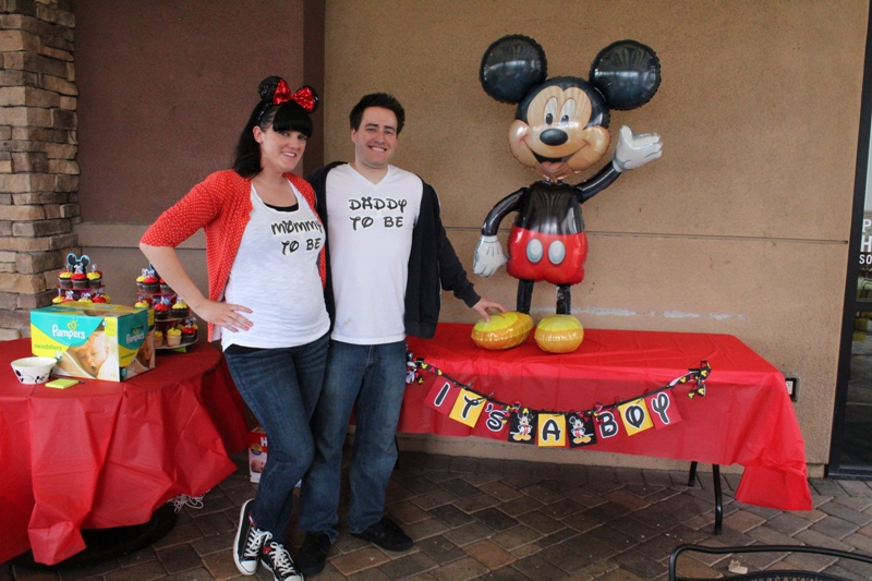A Mickey Themed Baby Shower // Inspired By Dis