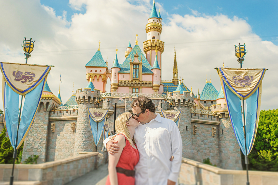 Disneyland Engagement Photos by Weston Neuschafer Photography // Inspired By Dis
