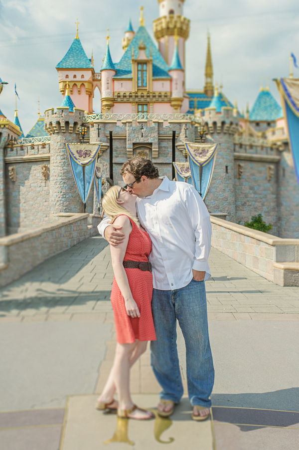 Disneyland Engagement Session by Weston Neuschafer Photography // Inspired By Dis