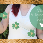Mickey St. Patrick's Day Garland
