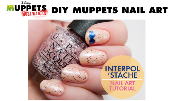 DIY Muppets Nail Art from OPI and MUPPETS MOST WANTED // Inspired By Dis