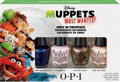 OPI Muppets Most Wanted set from Ulta // Inspired By Dis
