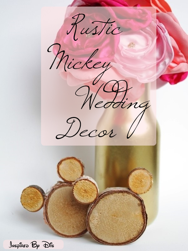 Rustic Mickey Wedding Decor // Inspired By Dis