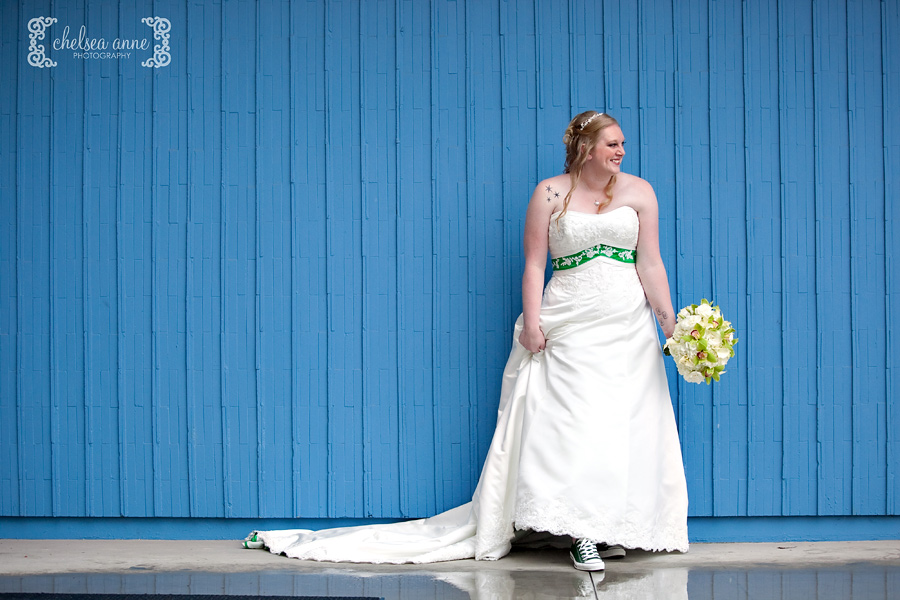 A Lucky St. Patrick's Day Disneyland Wedding // Inspired By Dis