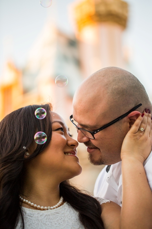 Disneyland Engagement Photos by D. Park Photography // Inspired By Dis